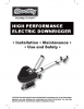 HP Electric Downrigger Manual