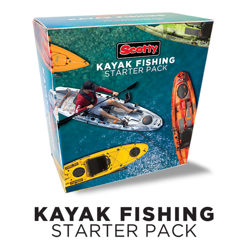 111 Kayak Fishing Starter Pack - Scotty